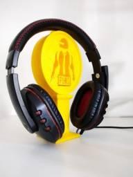 suporte para headset personalizado pubg
