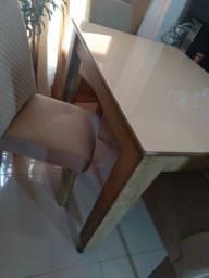 Título do anúncio: Mesa  4 cadeira