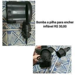 Título do anúncio: Bomba pra encher inflável