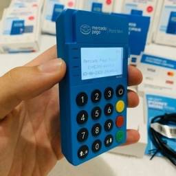 Título do anúncio:  Point Mini Blue NfC - Maquina de cartão Bluetooth - Seu dinheiro na hora!