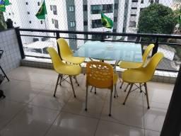 Título do anúncio: Apartamento á venda, 160 m²  com 3 quartos em Aflitos - Recife - PE