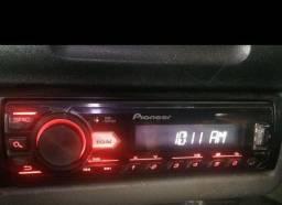 Título do anúncio: Toca CD Pioneer com saída sub