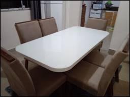 Título do anúncio: Mega Feirão!! Mesa 6 Cadeiras 100%MDF - Vicenza