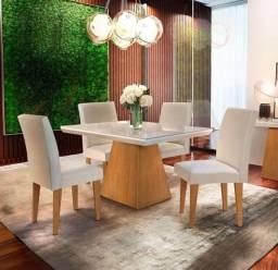 Título do anúncio: Mesa de jantar Luna c/4 cadeiras- Entrega Grátis