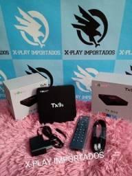 Título do anúncio: Tv Box Tx9s ultraHD 4k