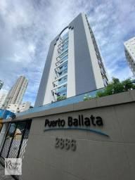 Do lado da Praia. Edf. Puerto Ballata. 2 Quartos com Varanda 72m² Rua dos Navegantes.