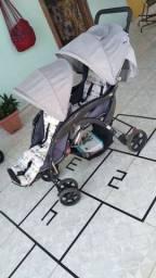 Título do anúncio: Carrinho de bebê para gêmeos
