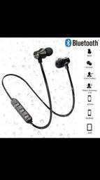 Fone de ouvido bluetooth 5.0  esportes nechband