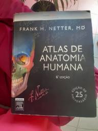 Título do anúncio: Atlas de anatomia humana Netter 6° ed.