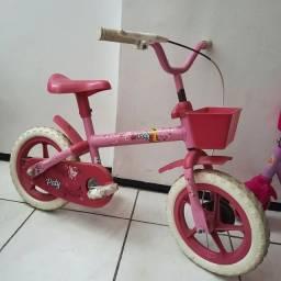Título do anúncio: Bicicleta infantil rosa até 4 anos