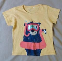Título do anúncio: Camisas Infantis - 4 anos - malha