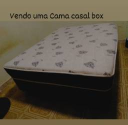 Título do anúncio: Cama Casal Box Semi Nova