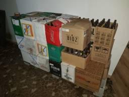 Cascos de cerveja, menor preço do OLX com entrega grátis para Curitiba