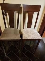 Título do anúncio: Cadeiras para sala de jantar em madeira maciça