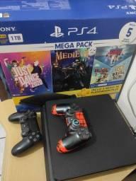 Título do anúncio: PS4 SLIM 1Tb. VALOR 2.200,00 PLAYSTATION 4 SLIM.