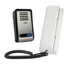 Porteiro Eletrônico HDL F8-SN com Acionador para Fechadura elétrica