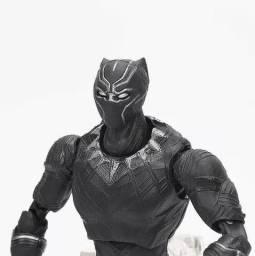 Action Figure Pantera Negra Shfiguarts Pvc 17cm Guerra Civil