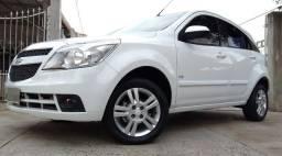 Gm - Chevrolet Agile LTZ 2011 completo 1.4 flex baixo Km PLaca A SOm Usb Branco - 2011