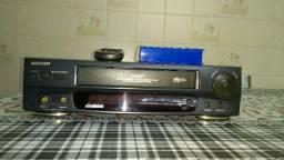 Raridade,Video Cassete Semp VC-X681 4 Cabeças,Impécavel Para Colecionador