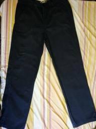 Calça preta social masculina Hand Side numero 46