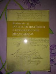 Livro da Revista do Instituto Histórico e Geográfico de Minas Gerais