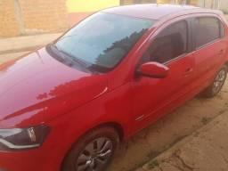 Carro Gol vermelho - 2013