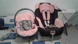 Vendo cadeirinha e bebê conforto por 180,00 reais