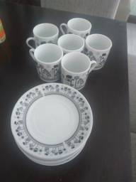 Conjunto de xícaras para café