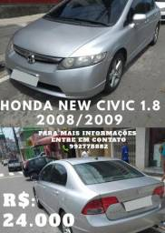 Honda new civic 1.8 08/09 - 2009
