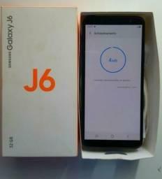 Samsung galaxy j6 32 GB completo