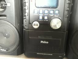 Vende micro system Philips cd, rádio e pen trave
