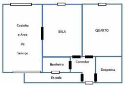 Apartamento de esquina com a Avenida João Pessoa, Tibiri 2, Santa Rita, Pb