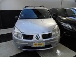 Renault Sandero Expression 1.0 Prata 2010 - 2010