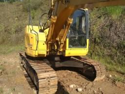 Escavadeira hidráulica Komatsun modelo 138