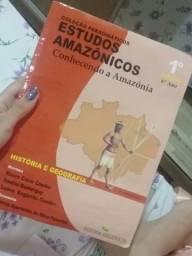 Livro de estudos amazônicos do caixinha do saber