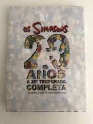 Box DVD Os Simpsons 20 Anos 20 Temporada Completa Original