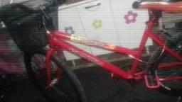 Bike perfeita pneus novos super macia potty