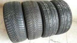 4- pneus 195/50r15 semi novos
