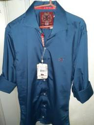 Camisas Slim Fit From England Masculina