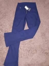 Calças jeans flare