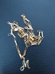 Vendo corrente de ouro com pingente