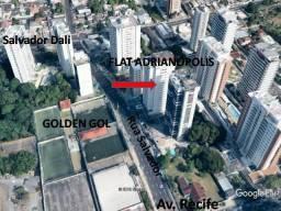 Financia Flat Adrianópolis(Rua Salvador)/45m² Andar Alto nascente/ Próx. Manauara Shopping