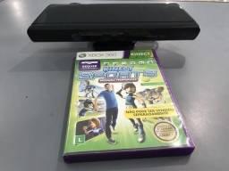 Kinect + jogo XBOX360