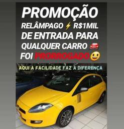 Showroom ENTRADAS REDUZIDAS! R$1MIL DE ENTRADA(BRAVO SPORTING 2013 COM TETO SOLAR) - 2013