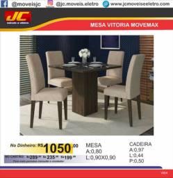 Mesa de Jantar 4 cadeiras. Luxo!