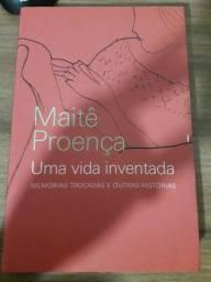 Livro uma vida inventada - Maitê Proença