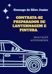 CONTRATA-SE PREPARADOR DE LANTERNAGEM E PINTURA
