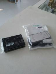 Seletor HDMI  (NOVO)