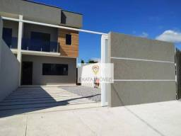 Casas duplex, meio terreno, quintal/área gourmet, 50m da Rodovia Amaral Peixoto/Rio das Os