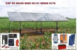 Solar Bombaeamento solar e energia solar residencial